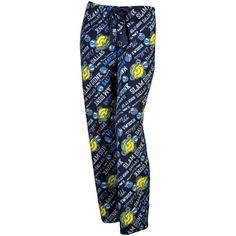 Dallas Mavericks Women's Little Miss NBA Fleece Pajama Pants - Navy Blue