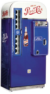 VMC-81 Pepsi Soda Vending Machine