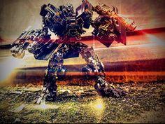 Ironhide in battle field