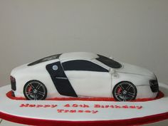 Audi R8 Cake by AndyK959, via Flickr