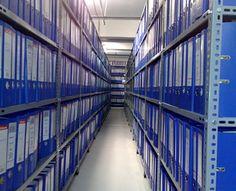 Arşiv raf sistemleri DKP sacdan üretilen çelik raf modelidir. Bu raflar özel ölçülerde üretilmektedir ve en öncelikli kullanım alanı arşiv sistemleridir. Arşiv raflarının derinlikleri 31 cm olarak belirlenmiştir.