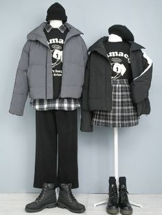 Source by battogosei outfits for teens Kpop Fashion Outfits, Ulzzang Fashion, Edgy Outfits, Classic Outfits, Korean Outfits, Outfits For Teens, Cool Outfits, Matching Outfits Best Friend, Matching Couple Outfits