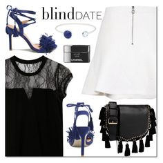 """""""Yoins blind date"""" by mada-malureanu ❤ liked on Polyvore featuring Rebecca Minkoff, Lazuli, Chanel, blinddate, yoins, yoinscollection and loveyoins"""