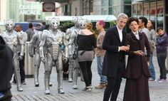 Check out the Cybermen! 12th Doctor set photo