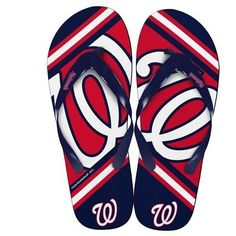 MLB 2014 Unisex Big Logo Flip Flops Washington Nationals