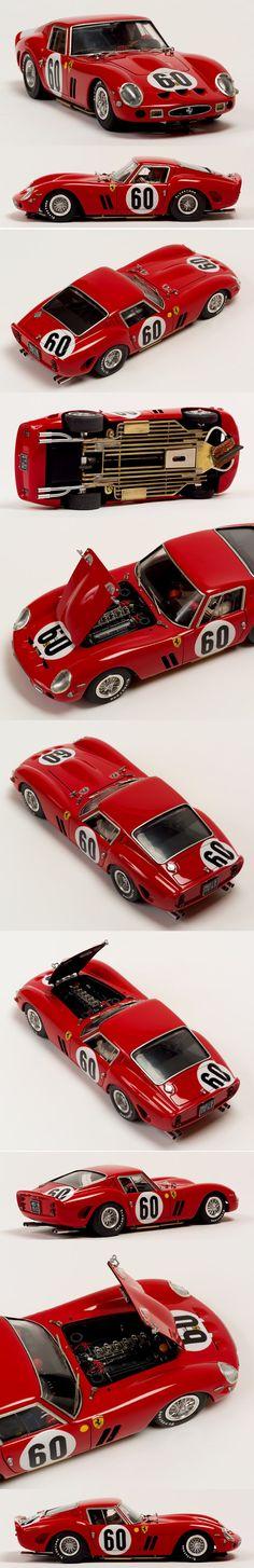 Slot Car Racing, Slot Cars, Race Cars, Car Magazine, Gto, Car Car, Ferrari, Model Car, Dreams