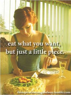 seriously, what is the point of being skinny if you are miserable all the time?