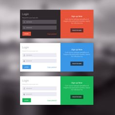 Login UI - by anil | #ui