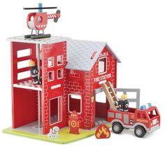 New Classic Toys - Fire Station