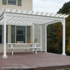 Variation ID: 5107, Variation Spec: 12' x 14' - 5107, Options pictured: square posts