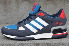 Adidas ZX 750 (Two Blues) #sneakers