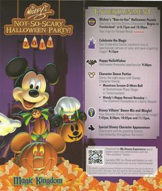 DisneyLifestylers.com  Check out the Map of Mickeys Not So Scary Halloween Party 2013 so that you can start planning right now!