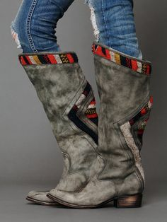 I Love These Boots! Freebird by Steven Roadies Tall Boot at Free People Clothing Boutique Tall Leather Boots, Tall Boots, Distressed Leather, Cowgirl Boots, Riding Boots, Cute Shoes, Me Too Shoes, Botas Boho, Bootie Boots