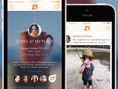 iPhone App - Event Detail, Timeline by Eric Hoffman