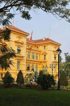 Presidential Palace, Hanoi, Vietnam