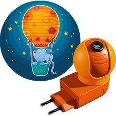 Steckdosenlicht Gute-Nacht-Maus HABA 301437 - Zaubert Süße-Träume-Bild an die…