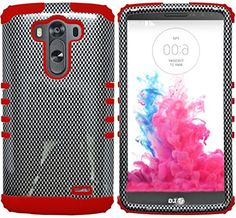 myLife Cinema Red and Classic Black {Shiny Checkered Design} Dual Layered 3 Piece Case for the LG G3 Smartphone (2 Piece Outer Rubberized Snap On Protector Shell + Internal Silicone SECURE-Grip Bumper Gel) myLife Brand Products http://www.amazon.com/dp/B00ODA2ZCO/ref=cm_sw_r_pi_dp_6tauub1VGP48V