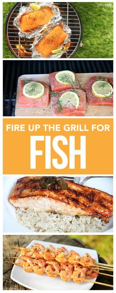 Forget burgers - serve up healthy fish on the grill!
