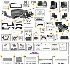 Jeep Cherokee XJ | Jeep Body Parts| Morris 4x4 Center | Jeep ...
