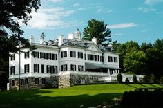 The Mount, Edith Wharton's Lenox, Massachusetts, estate, designed in collaboration with architect Ogden Codman Jr. in 1902.