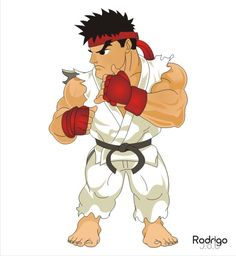 Chibi - Ryu - street fighter
