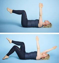 Få flad og stærk mave på kun 8 uger Sådan træner og spiser du dig til en f. Physical Fitness, Yoga Fitness, Fitness Tips, Fitness Motivation, Health Fitness, Yoga Flow, Fitness Transformation, Loose Weight, Aerobics