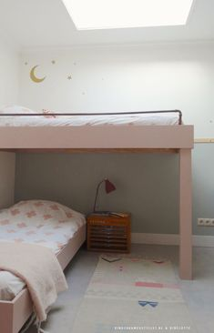 Kinderkamer hoogslaper #kidsfurniture   Kinderkamerstylist & Bibelotte