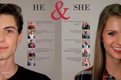 Flower Mound High School, Flower Mound, Texas/Student Life/Boys vs. Girls spread