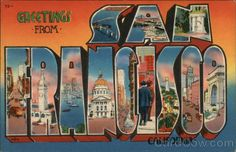 Greetings from san francisco california large letter postcard greetings from san francisco california large letter postcard pinterest san francisco california large letters and san francisco m4hsunfo
