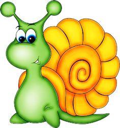 Snail Cartoon, Cute Cartoon, Cartoon Art, Ladybug Cartoon, Cute Clipart, Cute Animal Clipart, Smileys, Applique Patterns, Tole Painting