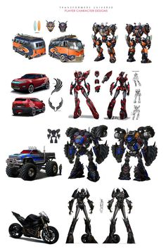 ArtStation - Transformers Universe Player Character designs, Sam Hogg
