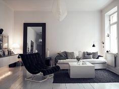 Basic and clever Stockholm home / Scandinavian Deko