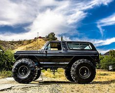 4x4 MONSTER TRUCK ROCK CRAWLER OFF ROAD MUD BOGGER 78 79 BRONCO SHOW TRUCK JEEP