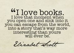 Book reader quote