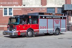 Chicago Fire Dept - 5-2-5 - Special Operations - Technical Rescue Team