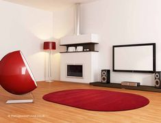 Home Comfort Plain Scarlet Oval Wool Rug Main Colors, Different Colors, Colours, Oval Rugs, Circle Rug, Home Comforts, Red Rugs, Shades Of Red, Scarlet
