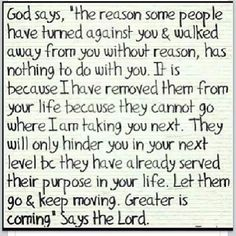 God knows what's next in our chapter let him help you through the next chapter