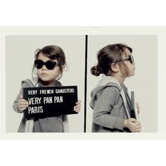 Little Fashion Gallery loves Very French Gangsters very panpan sunglasses