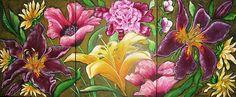 """""""Secret Garden"""" Artist Jill Alexander www.jillalexander.ca"""