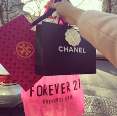 Even with all he money in the world....ya gotta hit up forever 21!!! <3