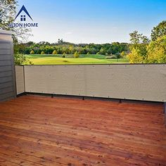 Alion Home Elegant Privacy Screen Mesh Windscreen For Backyard Deck Patio Balcony Pool Porch Fence No Black Trim 35 Inches Height Banha Beige 35x50 -- Check out the image by visiting the link.