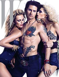 Tom Cruise Poses As Stacee Jaxx For W Magazine & Cover's pants by Logan Riese Def Leppard's Classic Rock Track Filed under: Donovan, Music Tom Cruise, Joan Jett, Def Leppard, Hard Rock, Abbey Lee Kershaw, Toms, Edita Vilkeviciute, W Magazine, Magazine Covers