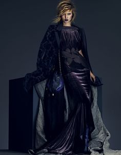 Key looks for autumn 'Velvet' | Josephine Skriver | Andrew Yee #photography | How To Spend It