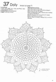 - Yuan Xu - Álbuns da web do Picasa Irish Crochet Patterns, Crochet Doily Diagram, Crochet Doily Patterns, Crochet Chart, Filet Crochet, Crochet Doilies, Crochet Flowers, Crochet Books, Crochet Home
