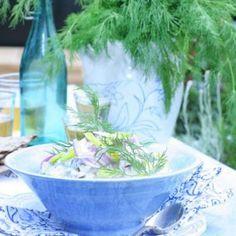 Rabarberkaka med kardemumma - enkelt recept - Mitt kök
