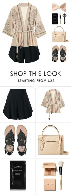 """""""Classy { links }"""" by alexis-belaruano ❤ liked on Polyvore featuring Chloé, Calypso St. Barth, Billabong, Foley + Corinna, Cleanse by Lauren Napier, Bobbi Brown Cosmetics, Forever 21 and kimonos"""