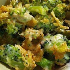 Broccoli Gratin Recipe: Broccoli and Cheese Gratin