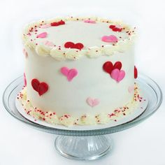 Loving Hearts Valentine's Day Cake