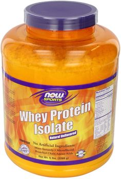 Amazon.com: NOW Sports Whey Protein Isolate,5-Pound: Health & Personal Care