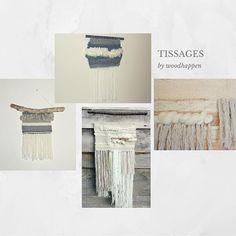 Tissages #tissage #tissagemoderne #tissagecontemporain #tissagemural #weaving #deco #handmade #craft #wallhanging #decoration #homestyle #woven